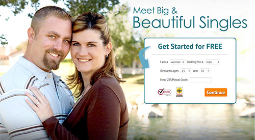 Big Beautiful People Meet - main page