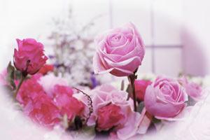 Vintage Valentines Roses